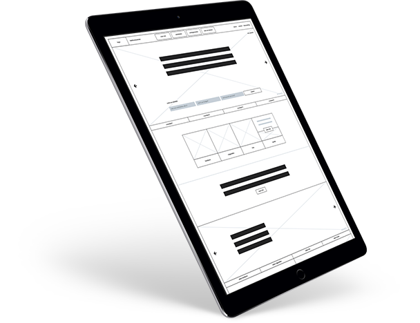 Functioneel plan en wireframes